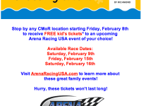Discounts to Arena Racing USA at Richmond Coliseum