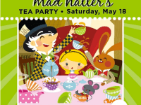 Free Mad Hatter's Tea Party at Short Pump Town Center on May 18, 2013