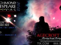 Discounts: Richmond Shakespeare Festival at Agecroft Hall