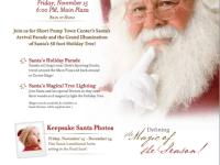 Santa's Arrival & Grand Illumination at Short Pump Town Center on November 15, 2013