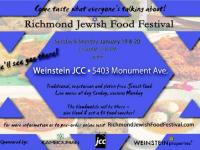 Richmond Jewish Food Festival on January 19 & 20, 2014