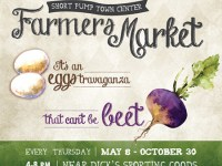 Farmers Market at Short Pump Town Center on Thursdays through October 30, 2014