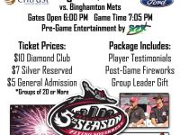 Faith Night is at The Diamond on August 7
