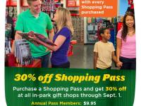 Shopping Alert for RVA: Save 30% at Busch Gardens Shops