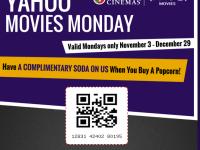 FREE soda at Real Cinemas and UA