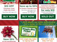 Busch Gardens deals on lots of events – TODAY ONLY