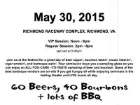 RVA Beer Bourbon & BBQ Festival