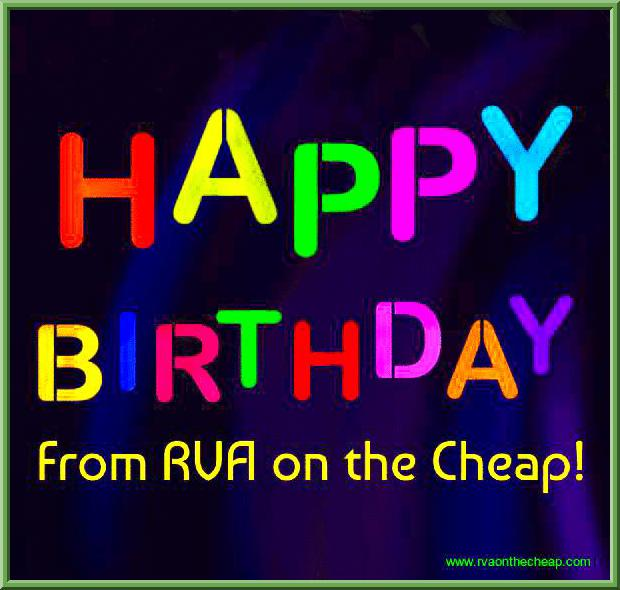 List of Richmond Birthday Freebies