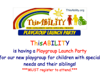 FREE Playgroup Launch Party for Special Needs Kids & Families