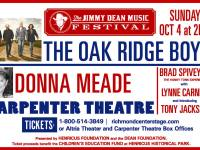 Enjoy The Oak Ridge Boys & More at Carpenter Theatre