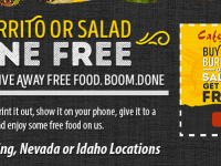 FREE Food at Cafe Rio for a Limited Time