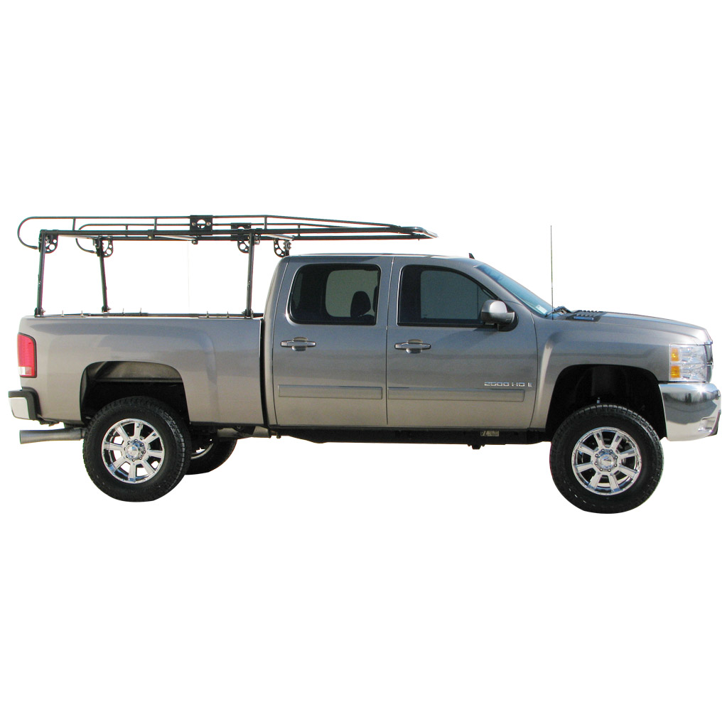 18601 paramount workforce ladder rack for use without truck caps
