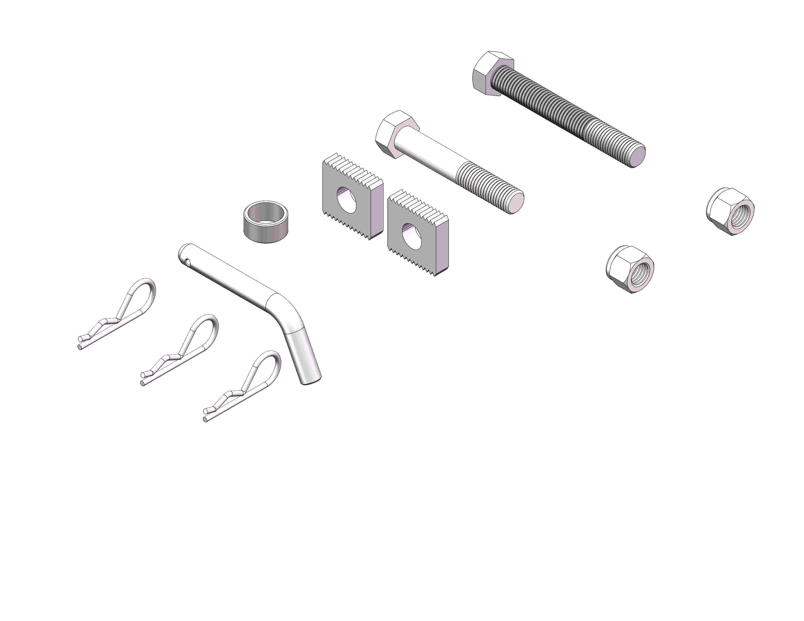 Husky Towing Weight Distribution Hitch Hardware