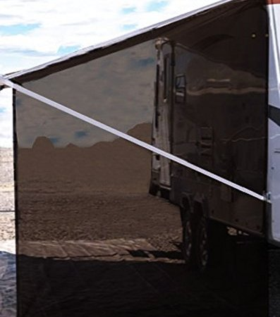 Tentproinc RV Awning Side Sun Shade 9'X7′ Brown Mesh ...