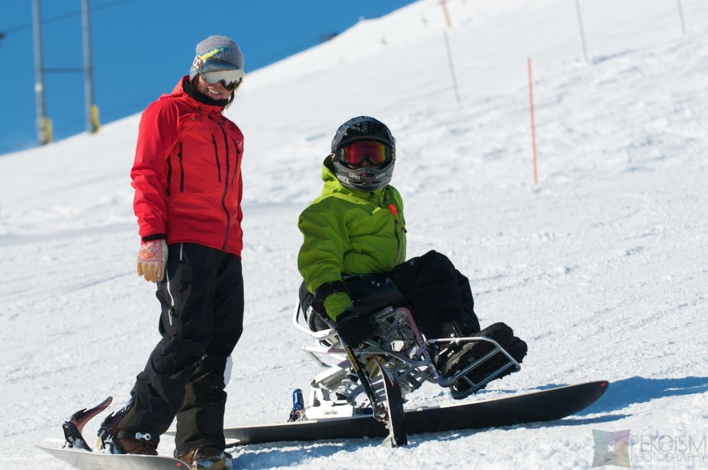 Niseko Hirafu Disabled Gentemstick rider
