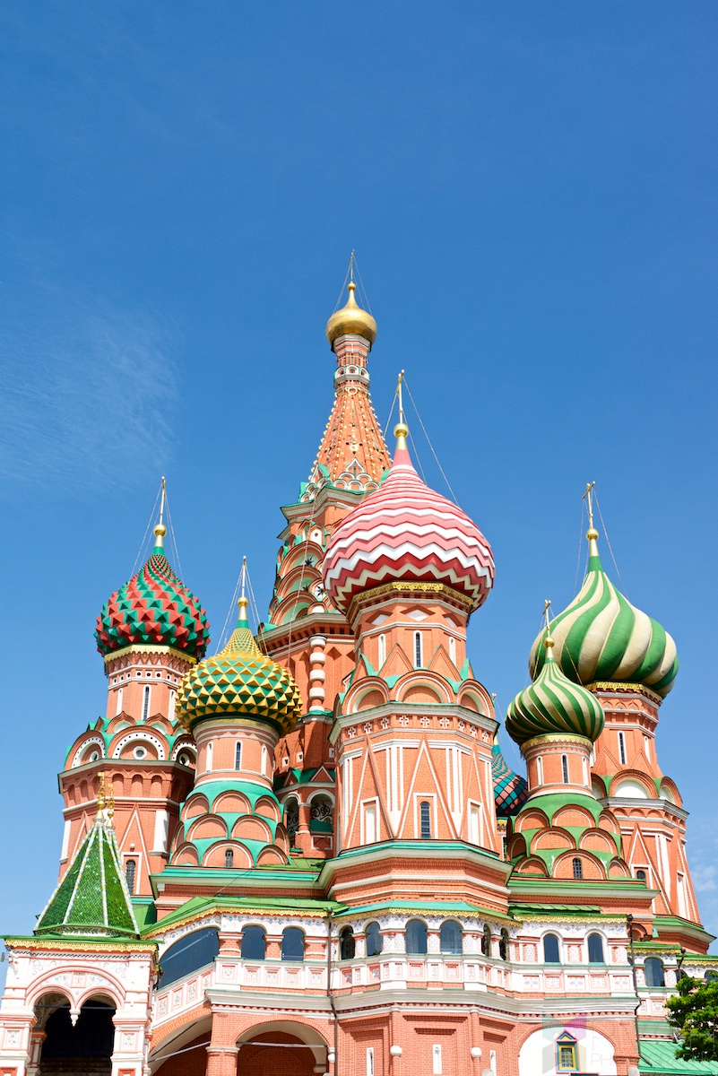Moscow – Saint Basil's Cathedral, The Kremlin, Moscow Metro, and Café Pushkin