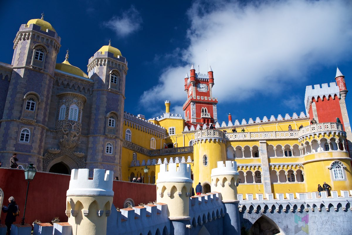 Portugal - Moorish Castle and Pena Palace of Sintra