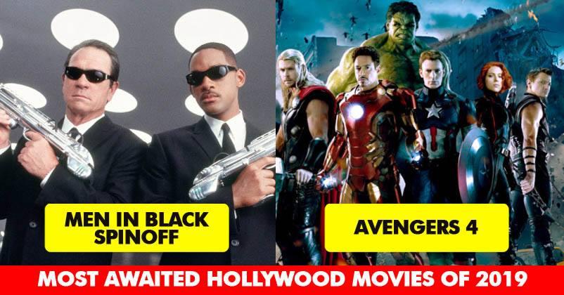 Upcoming hollywood Movies of 2019