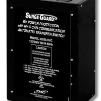 Surge Guard Model 40250-RVC 50A Hardwire Automatic Transfer Switch Full RV Power Protection 120/240V, 50A, 60 Hz