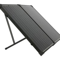 Humless Go 130 Watt Solar Panel, White/Black, SOLPAN130-FOLD