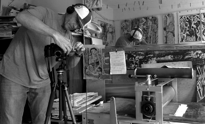 Mike Kobal . the making of a video #93