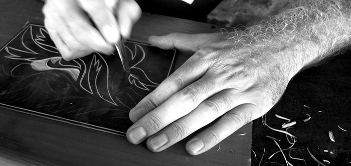 linoleum cut, workshop # 03