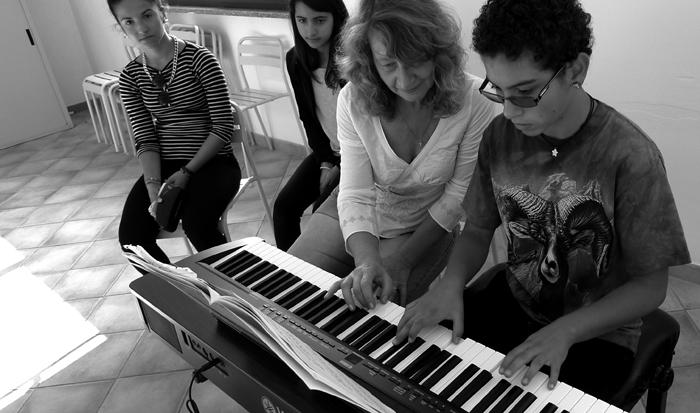 Musica e incisione laboratorio 2014, Italia.Tav. 03