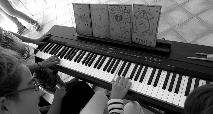 Musica e incisione laboratorio 2014, Italia.Tav. 30