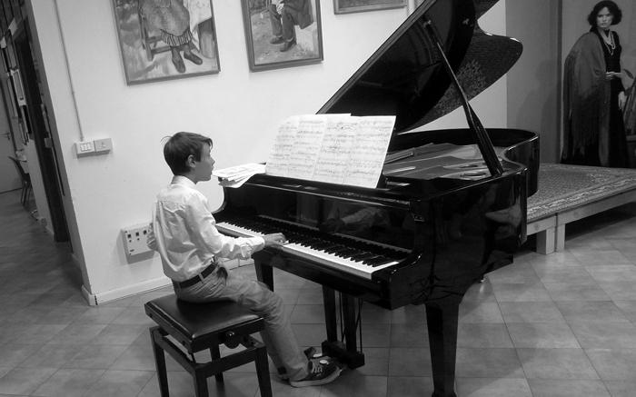 Musica e incisione laboratorio 2014, Italia.Tav. 67