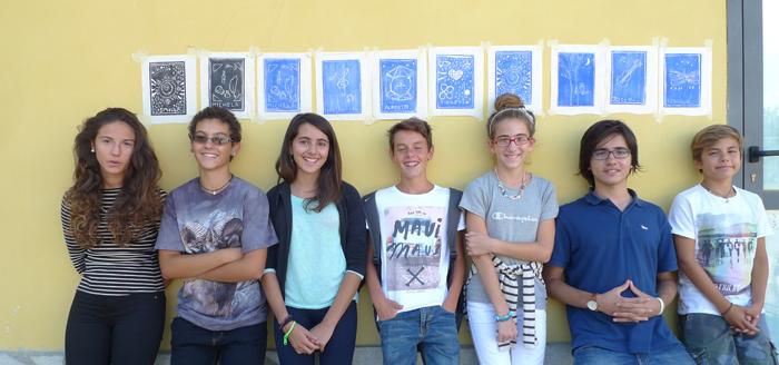 Musica e incisione laboratorio 2014, Italia.Tav. 69