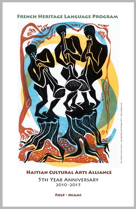 'Trompetistes' poster, FHLP Miami