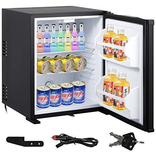 Smeta DC 12V Refrigerator AC Mini RV Fridge Hotel Office Bedroom Travel Truck