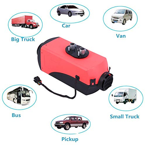 SUPERFASTRACING 2KW 12V Air Diesel Knob Switch Heater All In 1 for Motor-Home Truck Bus Car