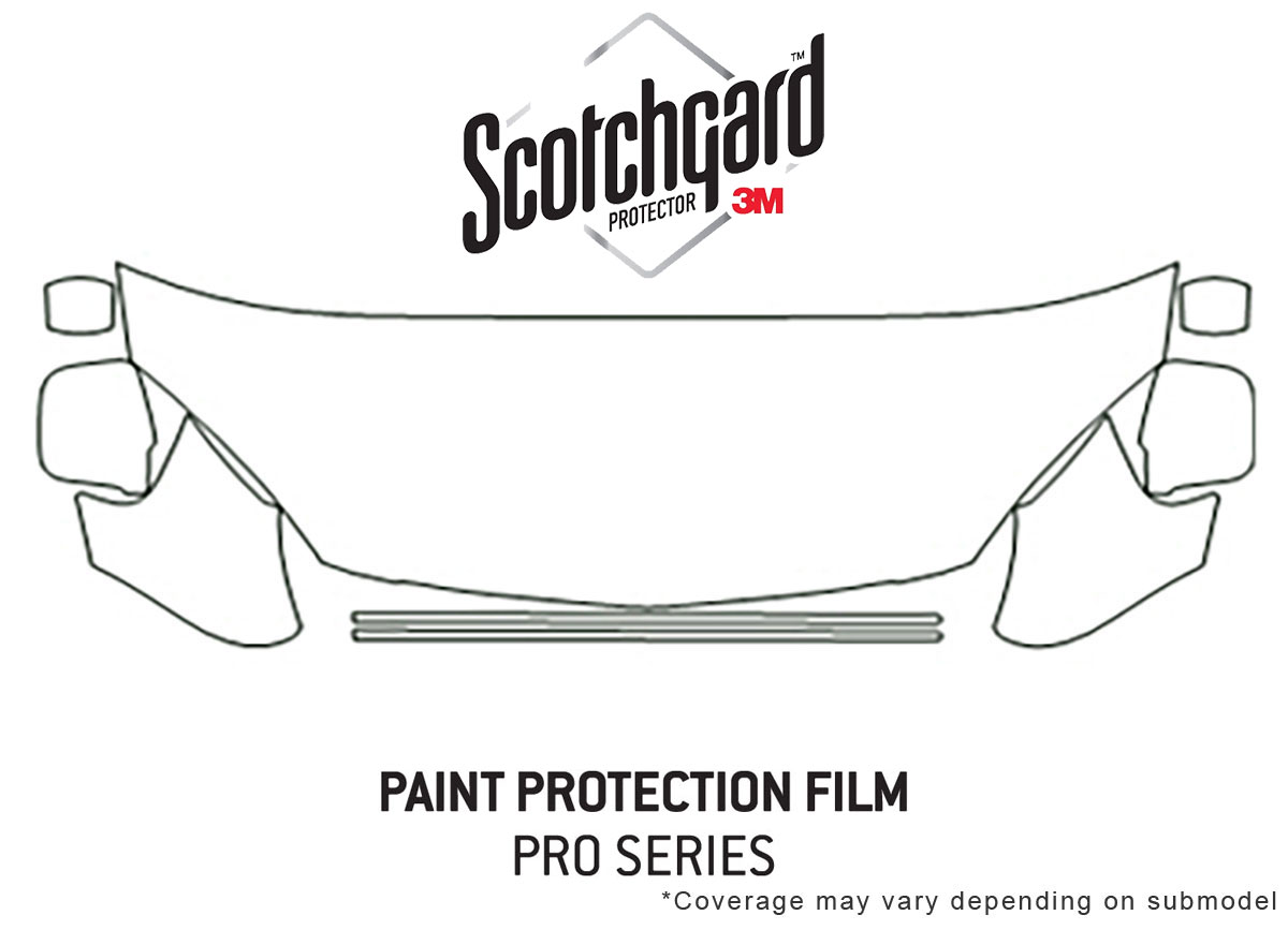 3m Pro Shield Paint Protection Kit For Acura Rsx