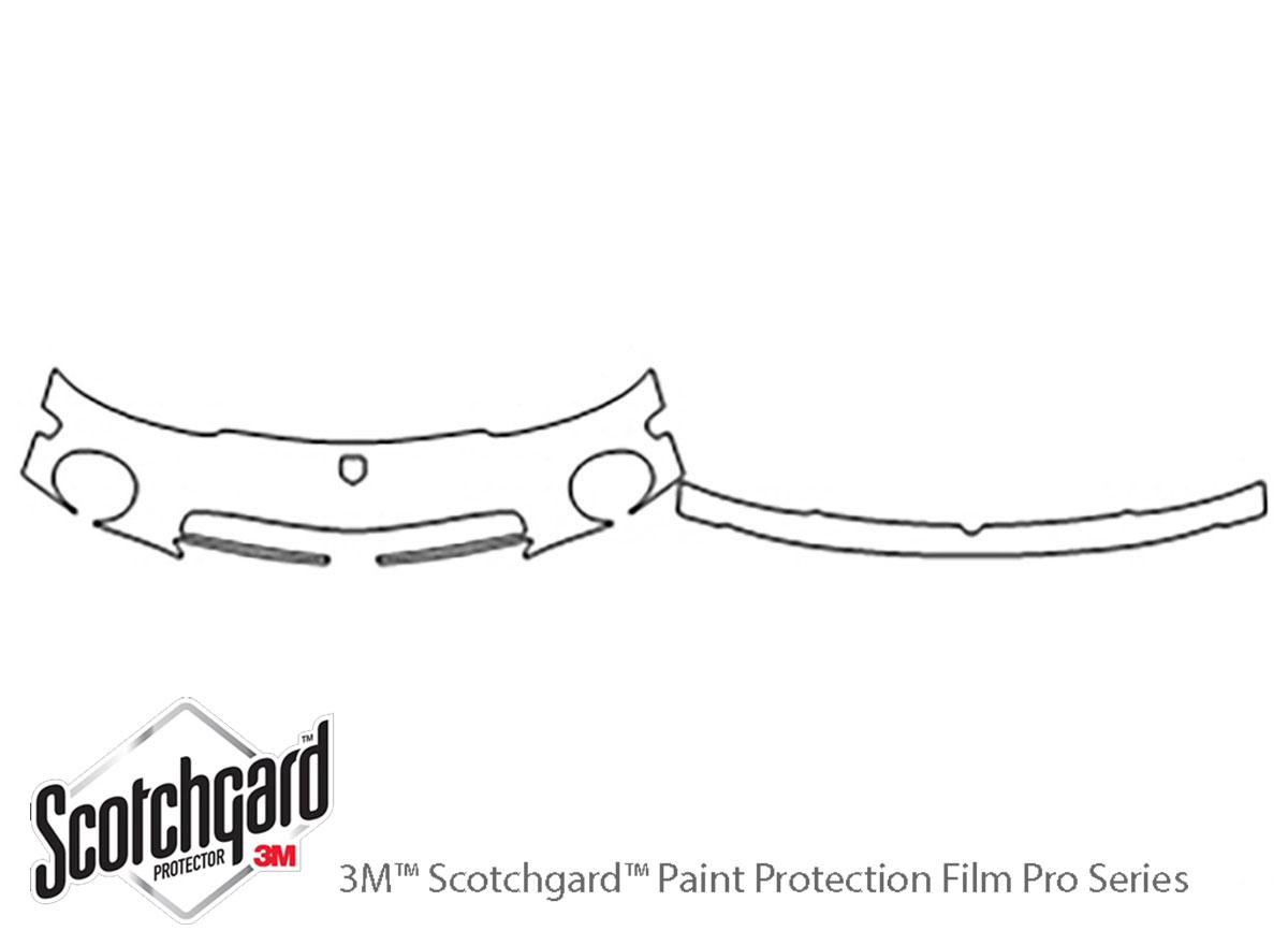 3m Dodge Viper Bumper Paint Protection Kit