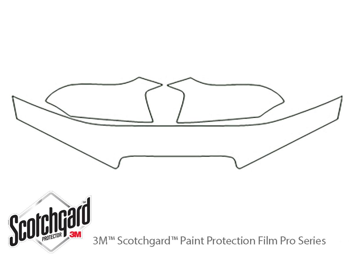 3m Hyundai Elantra Hood Paint Protection Kit