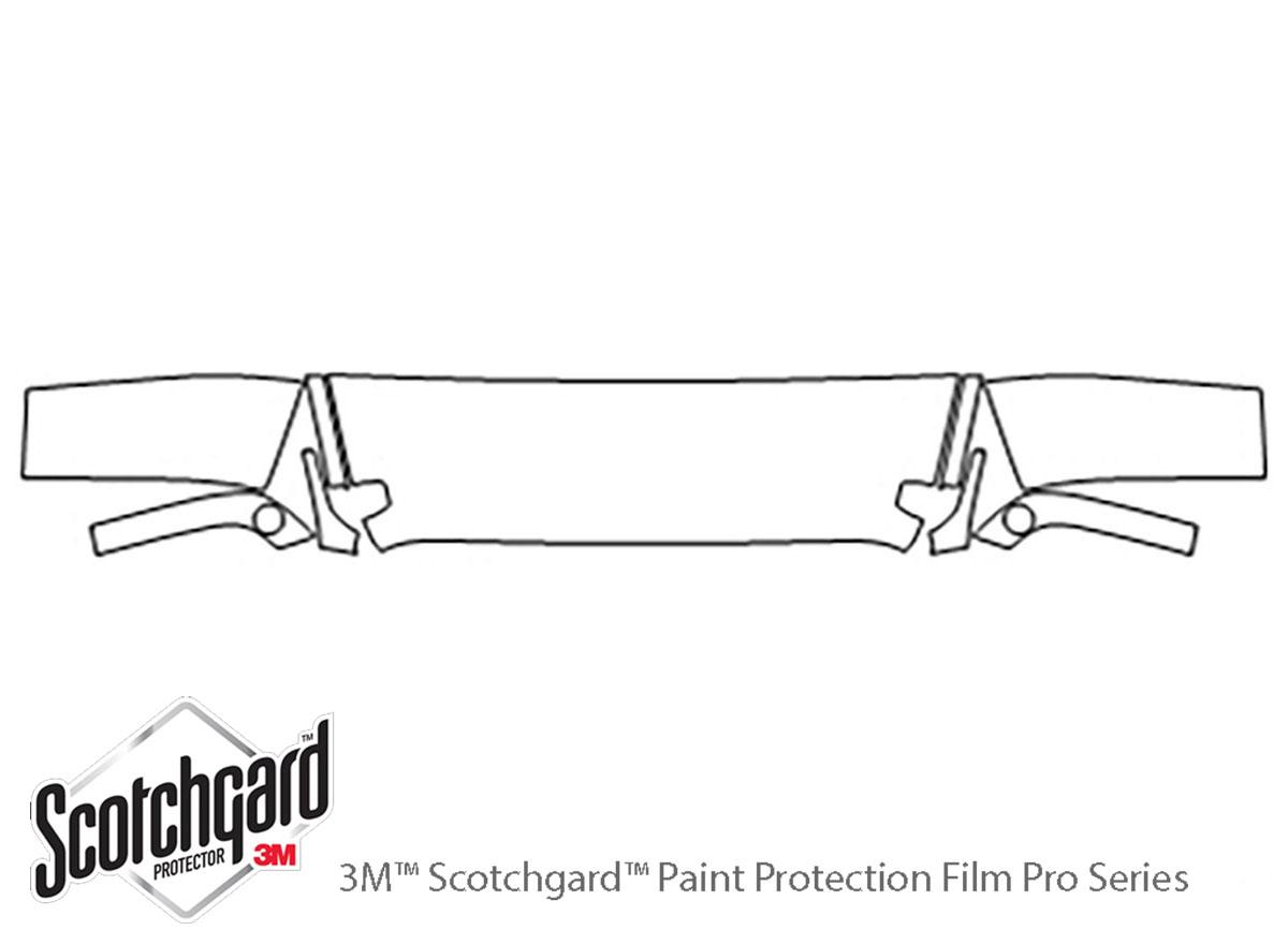 3m Jeep Wrangler Hood Paint Protection Kit