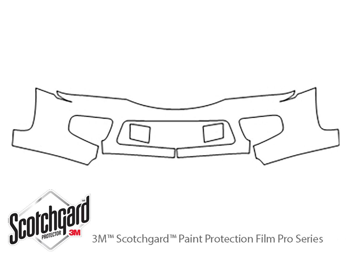 3m Saturn Vue Bumper Paint Protection Kit