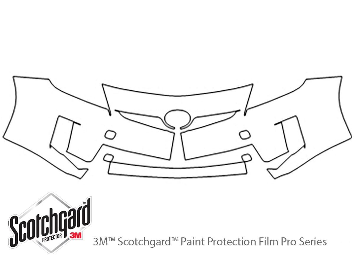 3m Toyota Prius Bumper Paint Protection Kit