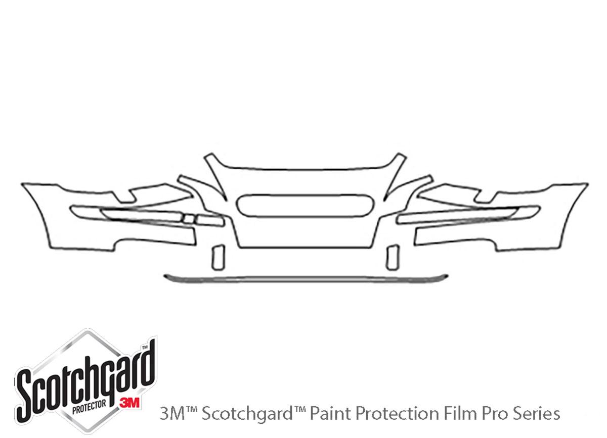 3m Volvo S40 Bumper Paint Protection Kit