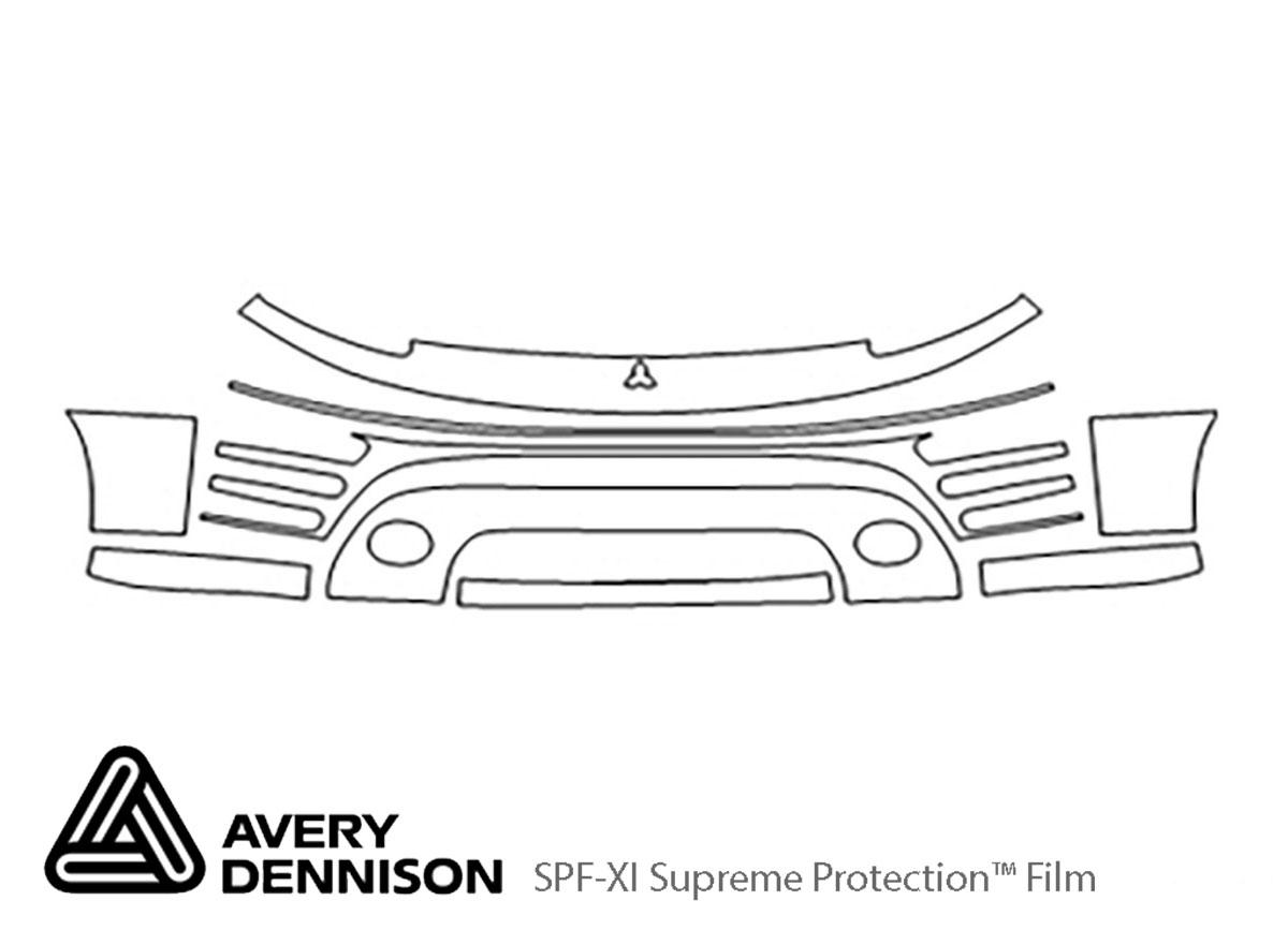 Avery Dennison Mitsubishi Eclipse Bumper Paint
