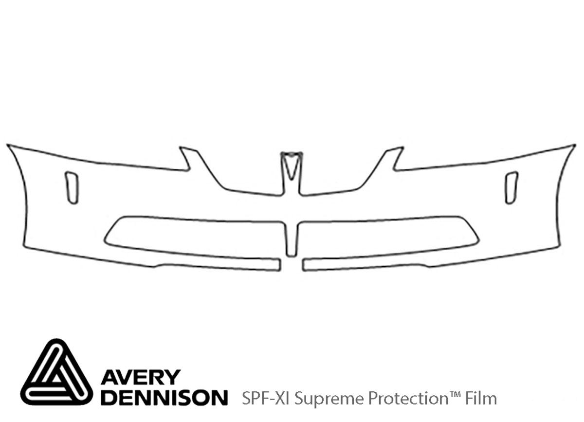 Avery Dennison Pontiac G8 Bumper Paint