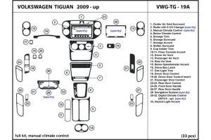 2011 Volkswagen Tiguan Dash Kits   Custom 2011 Volkswagen