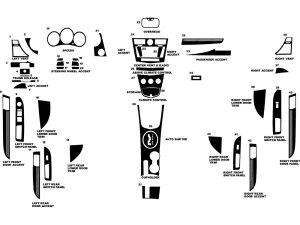 2008 Chrysler Sebring Dash Kits | Custom 2008 Chrysler