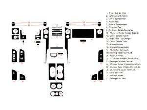 2004 Ford F150 Dash Kits | Custom 2004 Ford F150 Dash Kit