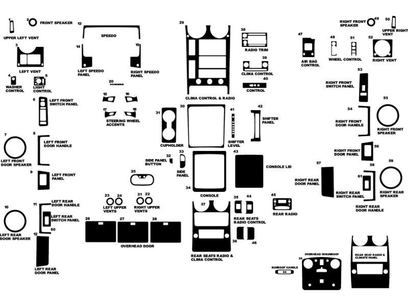 hummer h2 interior parts diagram. Black Bedroom Furniture Sets. Home Design Ideas