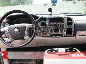 Chevrolet Silverado WT  LT 20072013 Dash Kits | DIY Dash Trim Kit