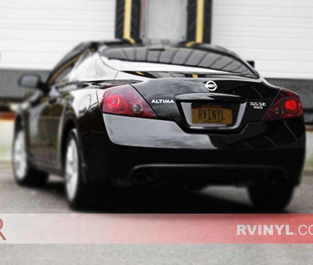 Nissan Altima Coupe 2008 2013 Tail Light Tints