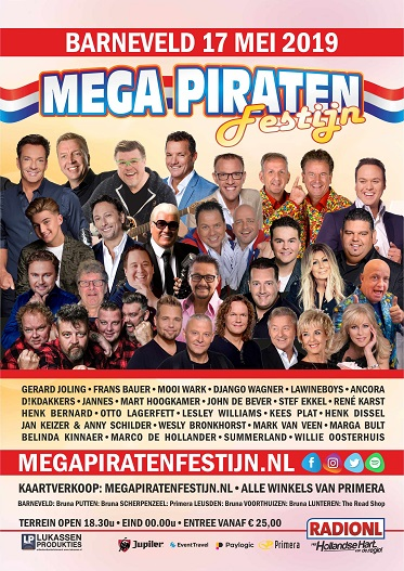 mega piraten festijn top 100