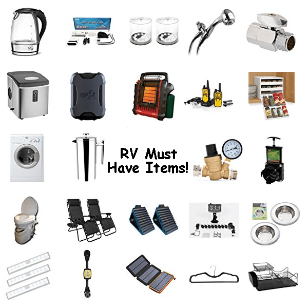 RV Gadgets that are a must have.